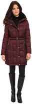 Vince Camuto Belted Down with Faux Fur Trim Collar J8601