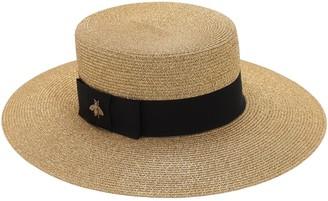 Gucci Nylon Blend Hat W/ Cotton Detail