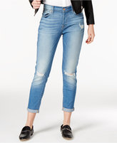 Women&39s Ripped Straight Leg Jeans - ShopStyle