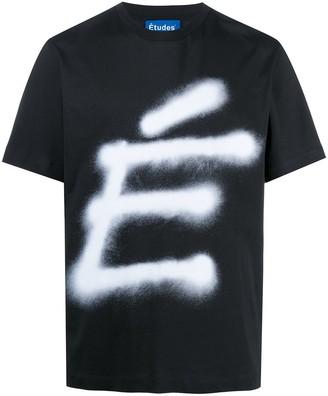 Études Wonder Accent print T-shirt