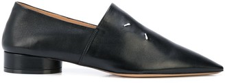 Maison Margiela Pointed Leather Loafers