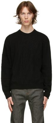 Neil Barrett Black Wool Misplaced Sweater