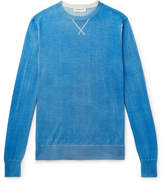 President's Slim-Fit Hand-Painted Wool And Cashmere-Blend Sweater