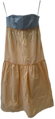 M Missoni Orange Silk Dresses