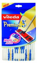Vileda 140780 Sweeper Covers Premium 5 Multi-Active for All Floors