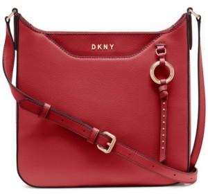 DKNY Leather Lola Messenger