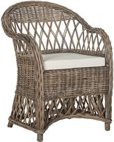 Safavieh Kathryn Wicker Club Chair, Rattan