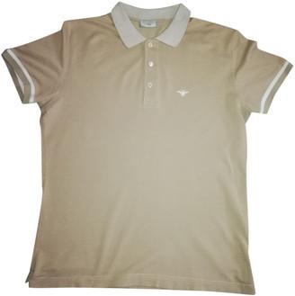 Christian Dior Beige Cotton Polo shirts