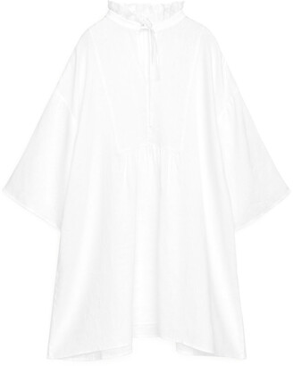Arket Wide-Fit Linen Dress