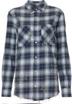 Amiri - check shirt - women - Cotton - M