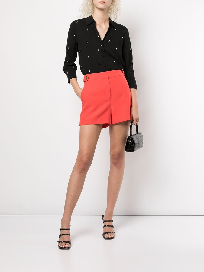 Thumbnail for your product : L'Agence Camille lightening-bolt shirt