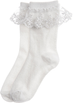 Monsoon Sparkly Lace Socks