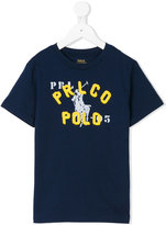 Ralph Lauren logo print T-shirt - kids - Cotton - 3 yrs