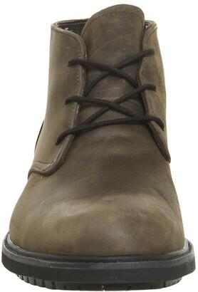 Timberland Stormbuck Chukka Boots Dark Brown Poseidon Nubuck