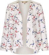 Yumi Swallow Bird Print Jacket