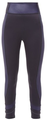 The Upside Nalu Side-panelled Leggings - Womens - Navy