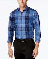Alfani Men's Plaid Shirt, Classic Fit