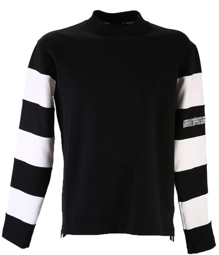 Calvin Klein Striped Cotton Sweatshirt