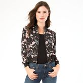 Juniors' IZ Byer California Floral Bomber Jacket