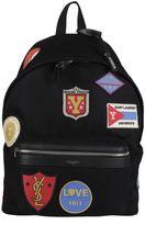 Saint Laurent City Patch Backpack