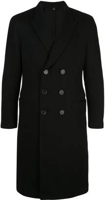 Neil Barrett double-breasted fitted coat