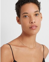 Club Monaco Collar Disc Necklace