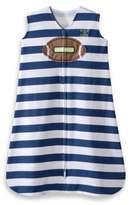 Halo SleepSack® Small Cotton Wearable Blanket in Navy Football