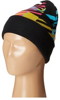 San Diego Hat Company Kids Machine Knit Pattern with Cuff Beanie (Little Kids/Big Kids)