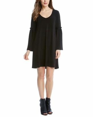 Karen Kane Women's Bell Sleeve Dress