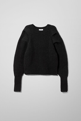 Weekday Vanetia Sweater - Black