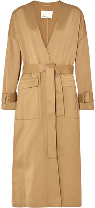 3.1 Phillip Lim Satin Trench Coat