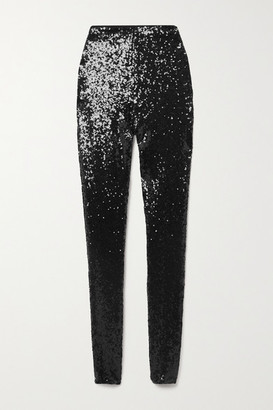 Commando Sequined Stretch-jersey Leggings