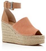 Marc Fisher Adalyn Ankle Strap Espadrille Platform Wedge Sandals