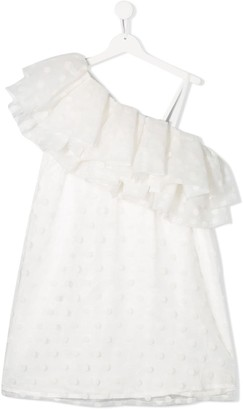 Little Marc Jacobs Frilled Dress