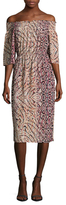 Plenty by Tracy Reese Off The Shoulder Midi Dress