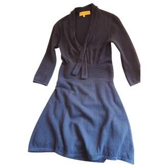 Catherine Malandrino Blue Wool Dress for Women