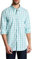 Tommy Bahama Long Sleeve Paradise Pima Gingham Regular Fit Shirt