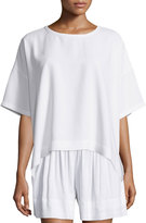 Vince Short-Sleeve Square Top