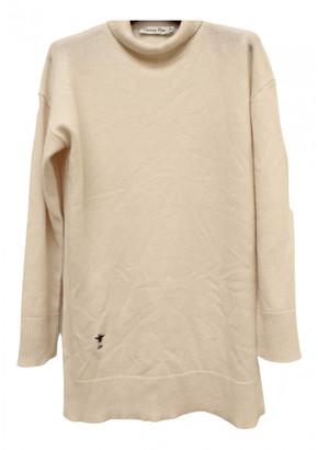 Christian Dior White Cashmere Knitwear