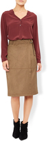 Monsoon Arya Suedette Skirt