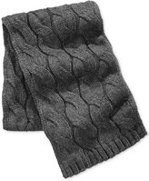 Michael Kors Men's Cable-Knit Scarf