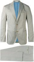 Boglioli stitched detail suit - men - Cotton/Spandex/Elastane/Acetate/Cupro - 48
