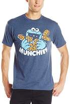 Sesame Street Men's Cookie Munchies Logo T-Shirt