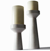 Tom Dixon Eclectic by Stone Candle Holder Short