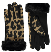 George Animal Print Gloves