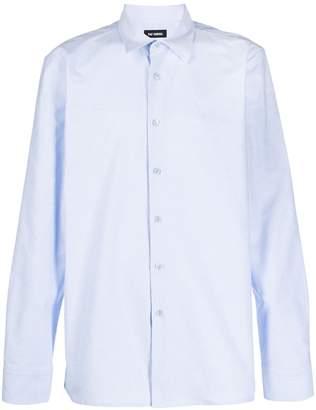 Raf Simons long sleeved cotton shirt