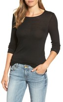 Halogen Women's Sheer Knit Tee