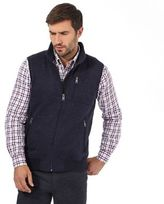 Maine New England Blue Three Pocket Gilet