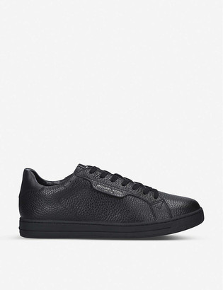 MICHAEL Michael Kors Keating pebbled leather trainers