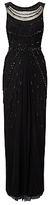 Phase Eight Collection 8 Abby Beaded Dress, Black